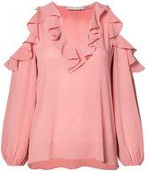 Alice + Olivia Alice+Olivia - cold shoulder blouse - women - Polyester - L