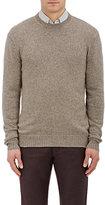 Ermenegildo Zegna Men's Cashmere Crewneck Sweater-TAN