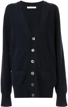 Extreme Cashmere classic oversized V-neck cardigan