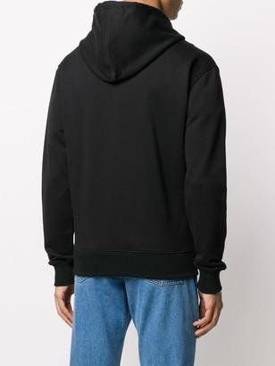 AMI Paris Ami de Cur zipped hoodie