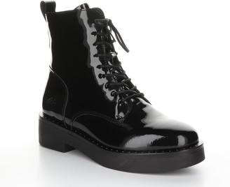 Bos. & Co. Leather Rubber Heel Ankle Boots - Frie nd