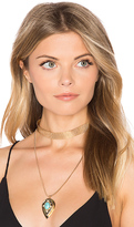 Samantha Wills Nightfall Lustre Pendant Necklace in Metallic Gold.