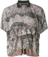 Diesel patterned floaty blouse