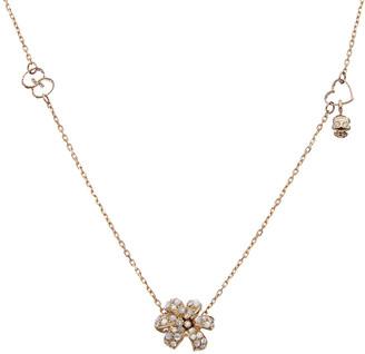 Gucci Flora 18K 0.10 Ct. Tw. Diamond Necklace