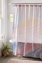 Urban Outfitters Medea Abstract Shower Curtain