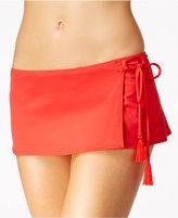 MICHAEL Michael Kors Coastal Side-Tie Swim Skirt