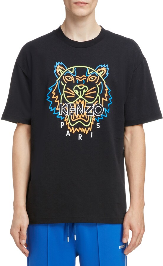 1d37f8f2 Neon Tiger Graphic T-Shirt