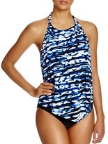 Magicsuit Nicole Blurred Lines Tankini Top
