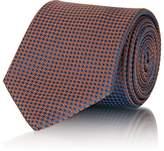 Brioni Men's Houndstooth Silk Necktie