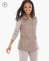 Chico's Quilted Front Jacket
