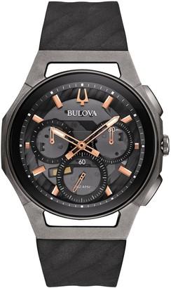 Bulova Men's Titanium CURV Chronograph Watch