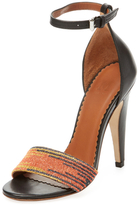 M Missoni Space Dye Ankle-Wrap Sandal