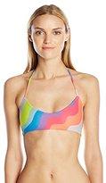 Mara Hoffman Women's Auralight Basket Weave Bikini Top