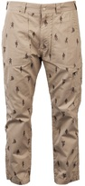White Mountaineering Soldier print pant