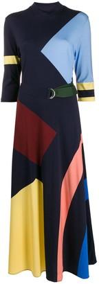 Chinti and Parker Digital Print Dress