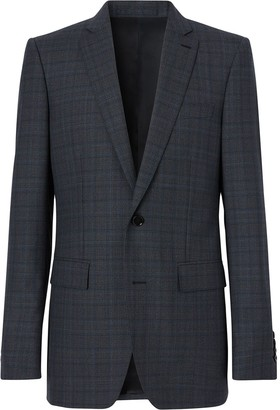 Burberry English Fit checked suit