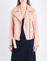 A.L.C. Duvall grained leather jacket