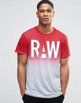 G Star G-Star Wendor Raw Dip Dye T-Shirt