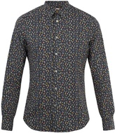 Paul Smith Bird-print single-cuff cotton shirt