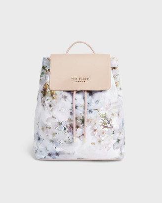 Ted Baker SUKKII Vanilla Nylon Drawstring Backpack