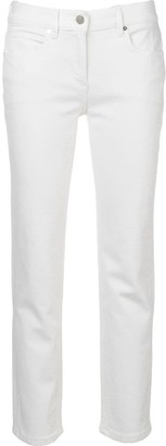Calvin Klein Cropped Slim-Fit Jeans