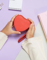 French Connection Heart Shaped Purse