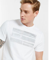 Express EXP textured bars graphic t-shirt
