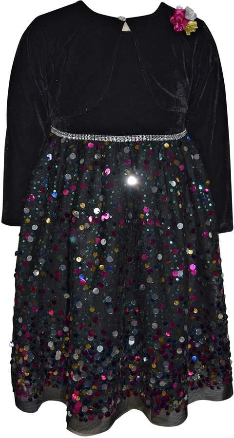 3529e9753f75a Girls Black Velvet Skirt - ShopStyle