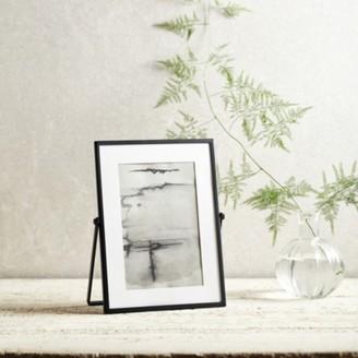 "The White Company Fine Black Easel Frame 4x6"", Black, One Size"