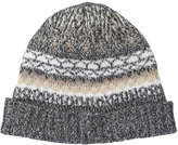 Joe Fresh Women's Fair Isle Hat, Grey Mix (Size O/S)