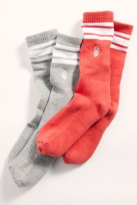 Lucky Honey Movement Logo Stripe Tube Socks