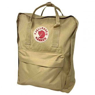 Fjallraven Beige Cloth Backpacks