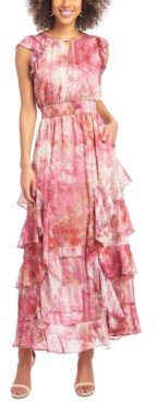 Rachel Roy Tie-Dyed Maxi Dress
