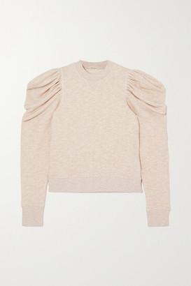 Ulla Johnson Alair Cotton Sweatshirt - Beige