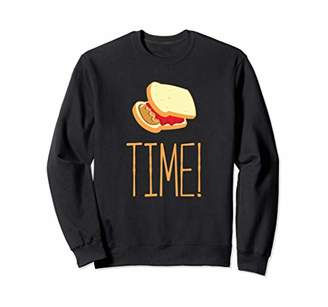 Butter Shoes Peanut Jelly Time Sweatshirt