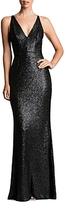 Dress the Population Sequin Gown