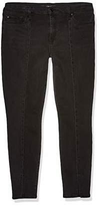 Joe's Jeans Women's ICON Midrise Skinny Ankle Front Seam and Split Hem Jean