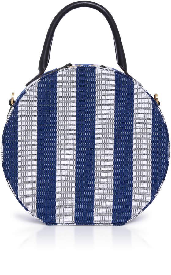 Mansur Gavriel Mini Circle Striped Bag