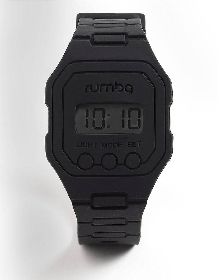 RumbaTime Ludlow Lights Out Digital Watch
