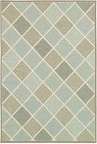 "Couristan Indoor/Outdoor Area Rug, Monaco 2470/2007 Meridian Multi 5'10"" x 9'2"""