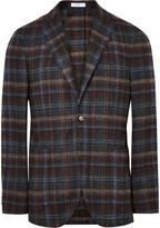 Boglioli - K-jacket Slim-fit Checked Alpaca-blend Blazer