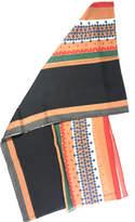 Western Colors Wool Scarf