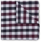 Jeff Banks Multi Check Pocket Square