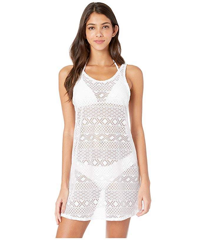 1a2e2738f0 Crochet White Swimsuit Cover Up - ShopStyle
