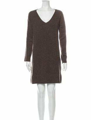 M.PATMOS Merino Wool Mini Dress Wool Merino Wool Mini Dress