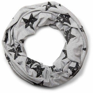 styleBREAKER classic tube scarf snood with vintage star pattern unisex 01018079
