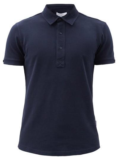 Orlebar Brown Sebastian Tailored Polo Shirt - Mens - Navy