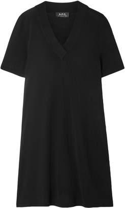 A.P.C. Jenn Jersey Mini Dress
