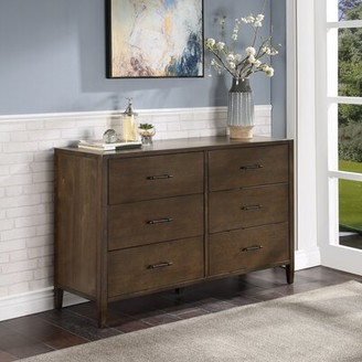 Safavieh Couture Tompkins 6 Drawer Double Dresser