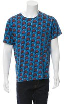 J.W.Anderson Abstract Print Crew Neck T-Shirt